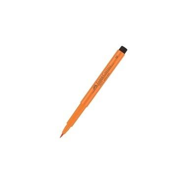 Faber Castell Pen Fırça Uçlu Kalem Turuncu Renkli
